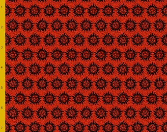 Antipossession symbol fabric (pre-order listing)