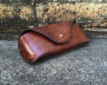 Leather Sunglasses Case
