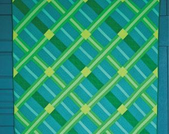 Crosshatch Quilt Pattern