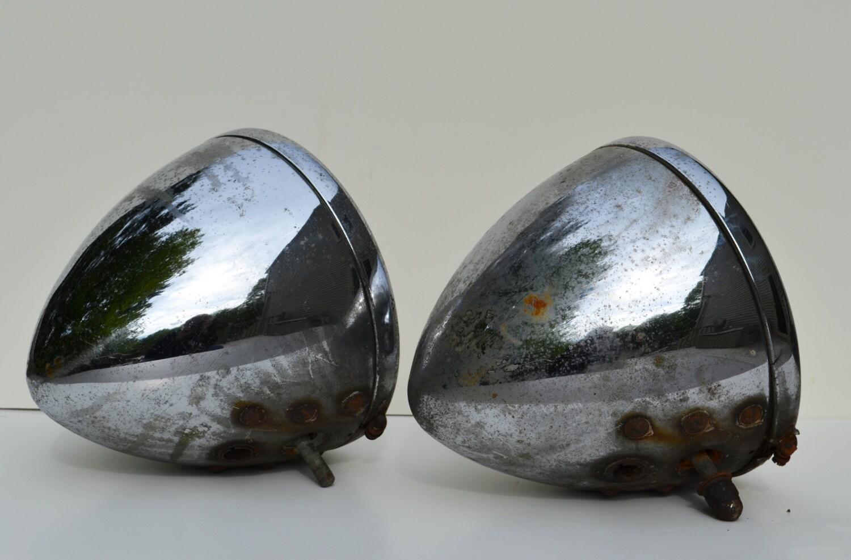 Antique Headlight Restoration : Antique chevrolet twilite headlights s automotive