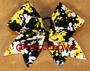 Sunflower Cheer Bow