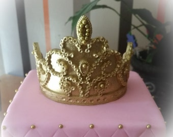 Edible princess tiara