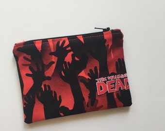 Zombie Hands Coin Purse, Coin Pouch, Zombies, Walkers, Credit Card Pouch, Zipper Pouch