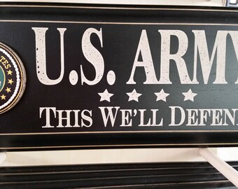 Army Sign