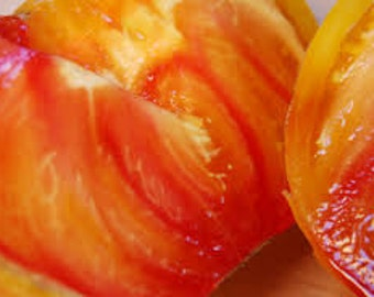 Pineapple Bicolor tomato seeds, free shipping!
