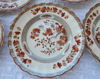 Spode Indian Tree Desert or Salad Plates (six)