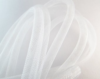 D-03055 - 1m Mesh tubing white 8mm
