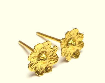 Bright Spot Earrings - Gold Earrings - 18k Gold Earrings  -  Seed Collection -  Free Shipping!!!