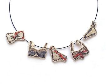 Bikini Washing Line Necklace/Choker | Makeforgood