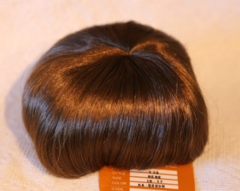 "Bebe Brown Doll Wig, Monique Doll Company, Modacrylic, Sizes 4"" - 5"", 7"" - 8"", 8"" - 9"" and 16"" - 17"", New"
