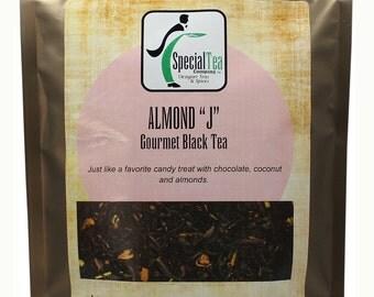 """Almond """"j"""", Black Tea, 20 Tea Bags"""