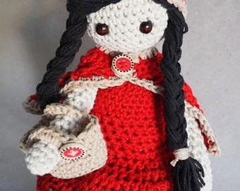 Red Riding Hood - Crochet Doll