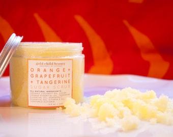 Orange + Grapefruit + Tangerine Sugar Scrub