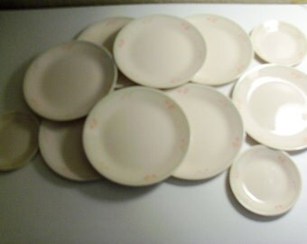 Corelle Corning Summer Blossoms Set Of Eleven Plates