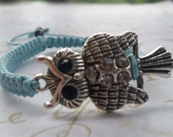Free Owl Bracelet, Many Colors