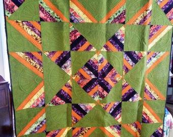 Green Star Quilt
