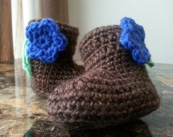 Baby Bootie House Slippers