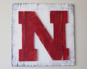 Pallet Nebraska N on Plywood