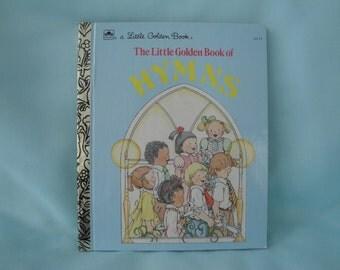Little Golden Book of Hymns/Children's Song Book/1985