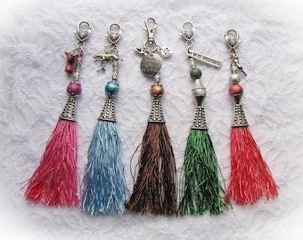 Tassel Dog Collar/Purse Bling (Greyhound, Whippet, Galgo, Saluki, Lurcher) ON SALE!