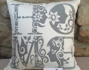 HOME, Decorative lettering Cushion