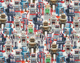 Cotton Jersey robots digital 1 meter