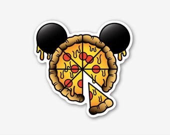 Mickey Pizza -  Sticker