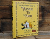 Book Safe - Winnie the Pooh - Leather Bound Hollow Book Safe