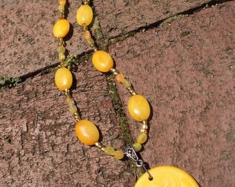 Butter Yellow Necklace