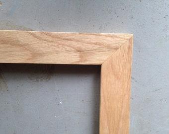 8.5x11 Oak Wood Picture Frame