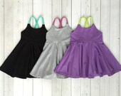 Festival Dress, Girls Dress, Baby Dress, Toddler Dress, Beach Dress, Summer Dress, Twirling Dress, Boho Dress,  Mix and Match Solid Colors