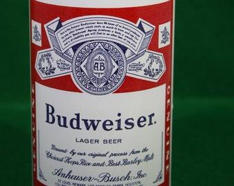 Vintage Budweiser Beer Drinking Glass