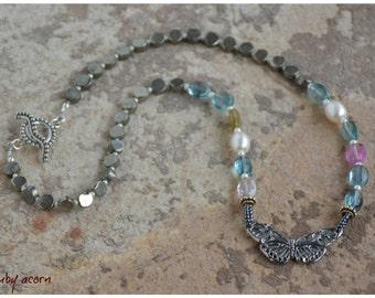 mariposa necklace . . .
