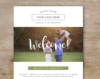 Photography Email Template - Email Newsletter Template - Photography Welcome Guide