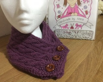 Ladies knitted Neckwarmer