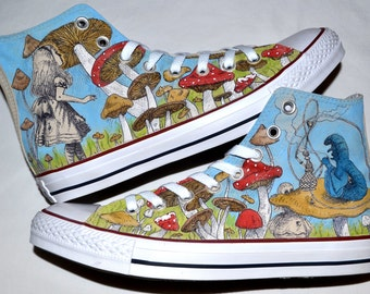 Step into Wonderland - Alice in Wonderland Shoes
