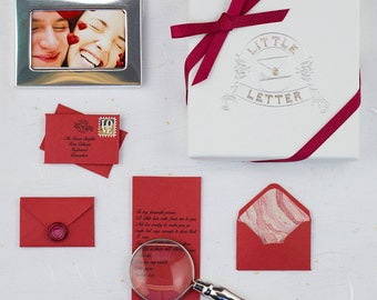 Personalised Miniature Love Letter Gift