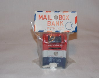Old Store Stock US Mailbox Toy Made in Japan