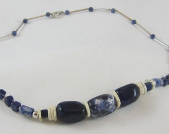 Lapis and Sodalite Necklace