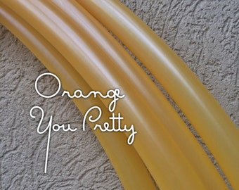 Orange You Pretty~~~Custom Polypro Hula Hoop