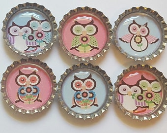 Owl Magnets Owl party favors