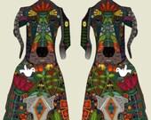 Magnifique tableau d'affichage aimanté recouvert de tissu antilope organisation bureau chambre babillard aimant photos mémos décor mural