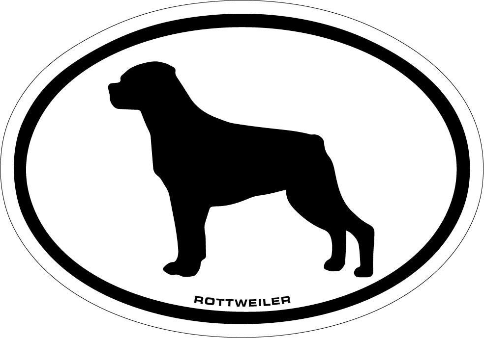 rottweiler vinyl decal sticker from vinyicustoms on etsy studio. Black Bedroom Furniture Sets. Home Design Ideas