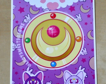 Sailormoon sticker shee