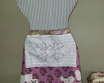 French hostess apron