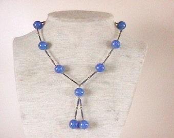 Lapis Necklace Beautiful Vintage