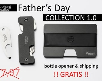 Father's Day Collection 1.0 , wallet, key chain, key organizer, aluminium