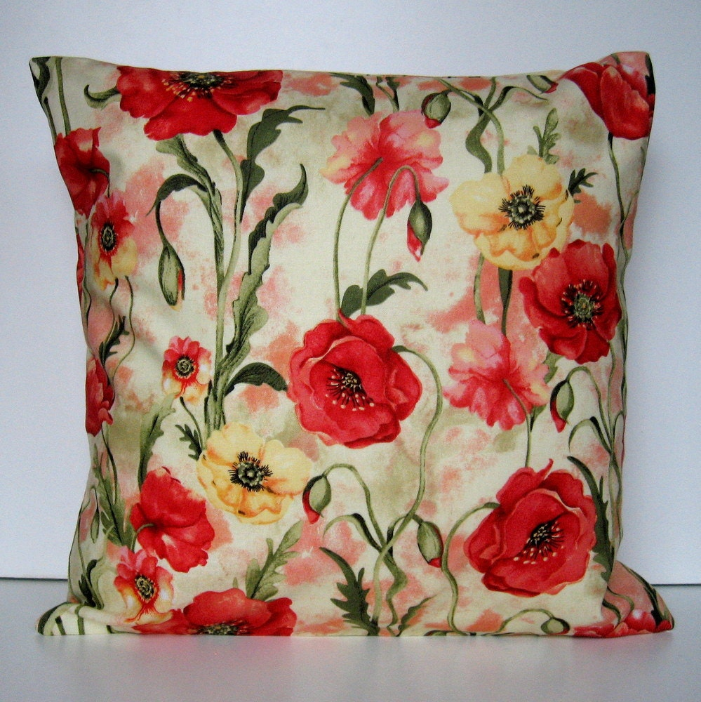 Spring Pillow Cover Summer Pillow Floral Pillow Cover Throw