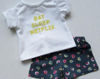 Pajama Set - American Girl Doll Clothes