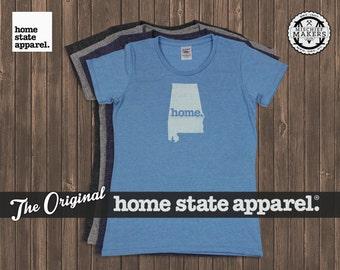 Alabama Home. T-shirt- Womens Cut